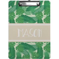 Tropical Leaves #2 Clipboard (Personalized)