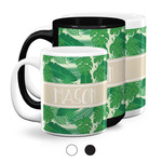 Tropical Leaves #2 Coffee Mugs (Personalized)