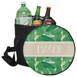Tropical Leaves #2 Collapsible Cooler & Seat (Personalized)