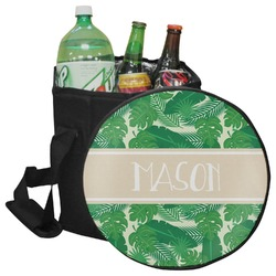 Tropical Leaves 2 Collapsible Cooler & Seat (Personalized)