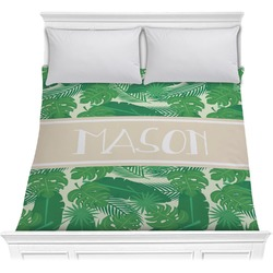 Tropical Leaves 2 Comforter (Personalized)