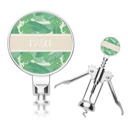 Tropical Leaves 2 Corkscrew (Personalized)
