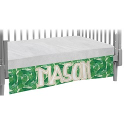 Tropical Leaves 2 Crib Skirt (Personalized)