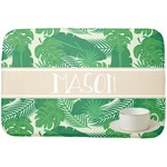 Tropical Leaves 2 Dish Drying Mat (Personalized)