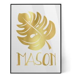 Tropical Leaves 2 Foil Print (Personalized)