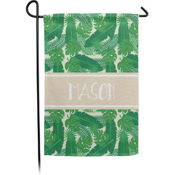 Tropical Leaves 2 Garden Flag - Single or Double Sided (Personalized)
