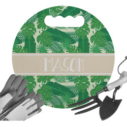 Tropical Leaves 2 Gardening Knee Cushion (Personalized)