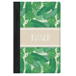 Tropical Leaves 2 Genuine Leather Passport Cover (Personalized)