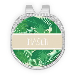 Tropical Leaves #2 Golf Ball Marker - Hat Clip