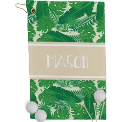 Tropical Leaves 2 Golf Towel - Full Print (Personalized)
