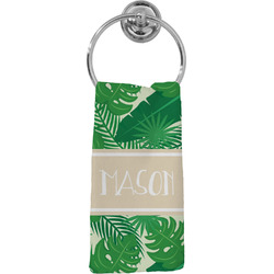 Tropical Leaves #2 Hand Towel - Full Print w/ Name or Text