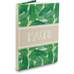 Tropical Leaves 2 Hardbound Journal (Personalized)
