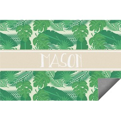 Tropical Leaves #2 Indoor / Outdoor Rug (Personalized)