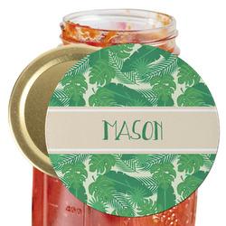 Tropical Leaves 2 Jar Opener (Personalized)