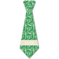 Tropical Leaves 2 Iron On Tie (Personalized)