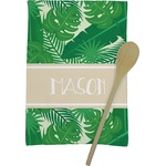 Tropical Leaves 2 Kitchen Towel - Full Print (Personalized)