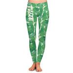 Tropical Leaves #2 Ladies Leggings (Personalized)