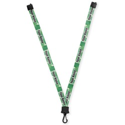 Tropical Leaves 2 Lanyard (Personalized)