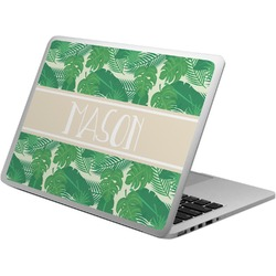 Tropical Leaves #2 Laptop Skin - Custom Sized w/ Name or Text