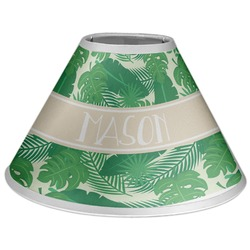Tropical Leaves 2 Coolie Lamp Shade (Personalized)