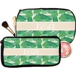 Tropical Leaves 2 Makeup / Cosmetic Bag (Personalized)