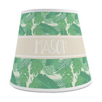 Tropical Leaves 2 Empire Lamp Shade (Personalized)