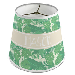Tropical Leaves #2 Empire Lamp Shade (Personalized)