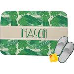 Tropical Leaves #2 Memory Foam Bath Mat (Personalized)