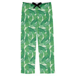 Tropical Leaves #2 Mens Pajama Pants (Personalized)