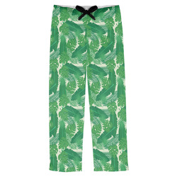 Tropical Leaves 2 Mens Pajama Pants (Personalized)