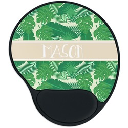 Tropical Leaves 2 Mouse Pad with Wrist Support