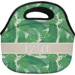 Tropical Leaves 2 Lunch Bag (Personalized)