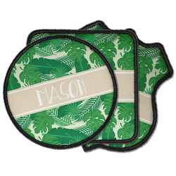 Tropical Leaves #2 Iron on Patches (Personalized)
