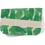 Tropical Leaves 2 Burp Cloth (Personalized)