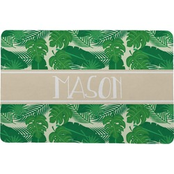 Tropical Leaves 2 Comfort Mat (Personalized)