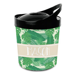 Tropical Leaves 2 Plastic Ice Bucket (Personalized)