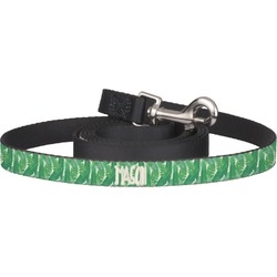 Tropical Leaves 2 Pet / Dog Leash (Personalized)