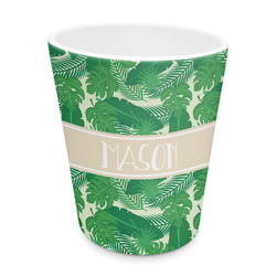 Tropical Leaves 2 Plastic Tumbler 6oz (Personalized)