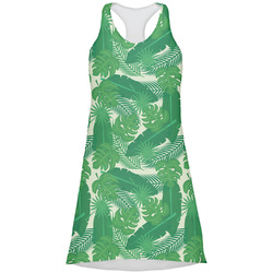 Tropical Leaves 2 Racerback Dress (Personalized)