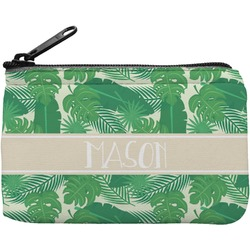 Tropical Leaves 2 Rectangular Coin Purse (Personalized)