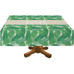 "Tropical Leaves 2 Tablecloth - 58""x102"" (Personalized)"