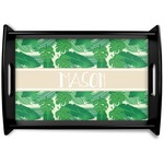 Tropical Leaves #2 Wooden Trays (Personalized)