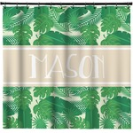 Tropical Leaves #2 Shower Curtain (Personalized)