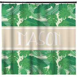 Tropical Leaves 2 Shower Curtain (Personalized)