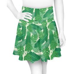 Tropical Leaves #2 Skater Skirt (Personalized)