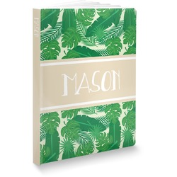 Tropical Leaves 2 Softbound Notebook (Personalized)