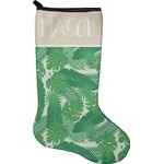 Tropical Leaves 2 Christmas Stocking - Neoprene (Personalized)