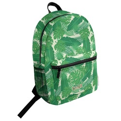 Tropical Leaves 2 Student Backpack (Personalized)