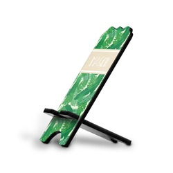 Tropical Leaves 2 Stylized Phone Stand (Personalized)