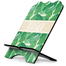 Tropical Leaves 2 Stylized Tablet Stand (Personalized)